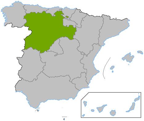 Localización_Castilla_y_León
